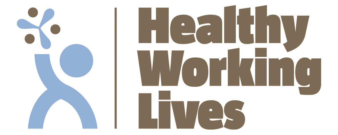 Healthy Working Lives Logo