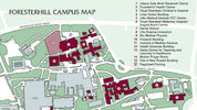Maps of Foresterhill Campus