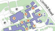 Maps of Institute of Medical Sciences campus