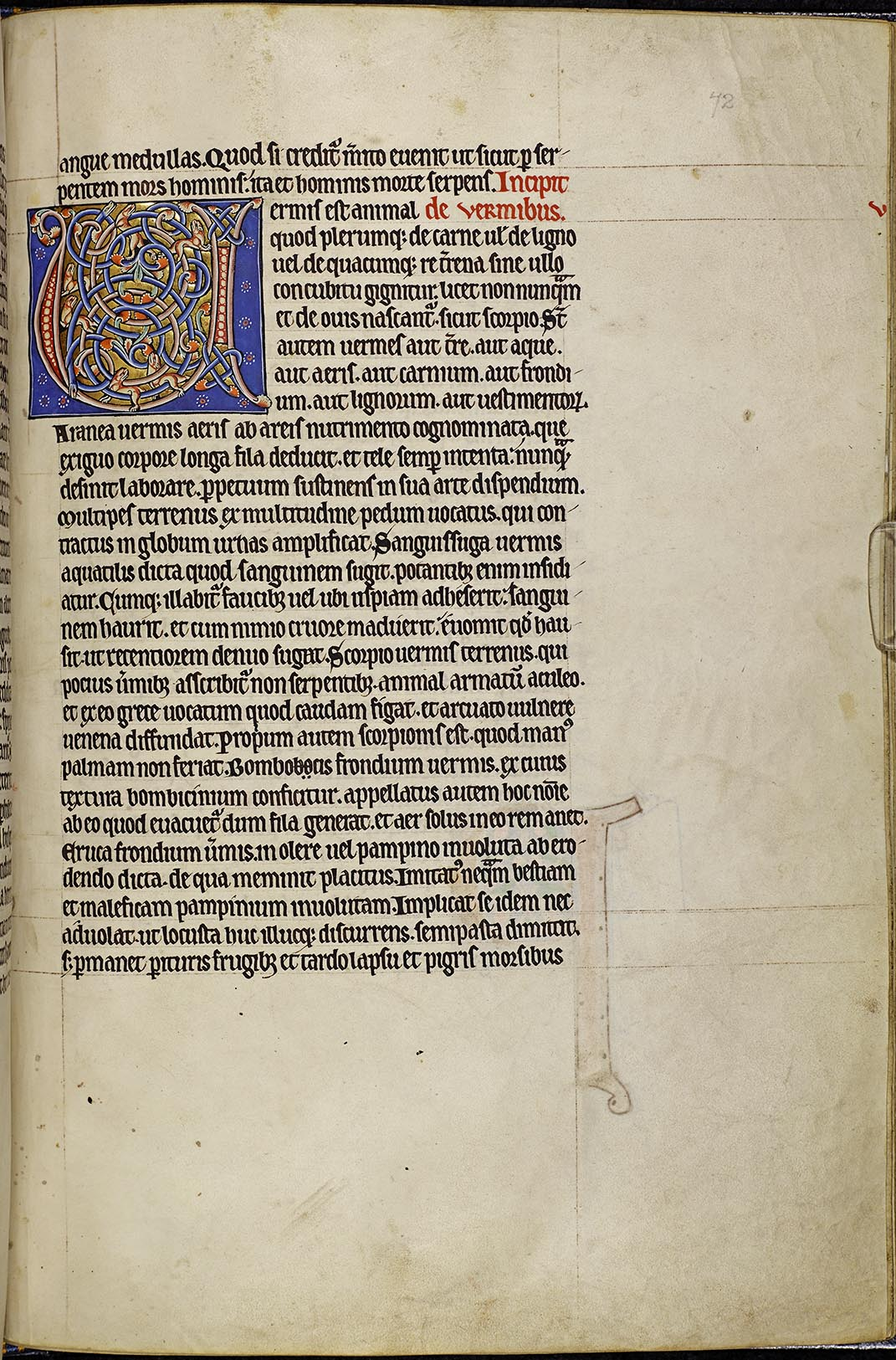 Folio 72r of the Aberdeen Bestiary, https://www.abdn.ac.uk/bestiary/translat/72r.hti
