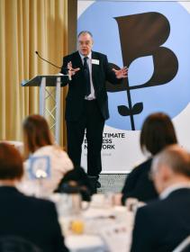 Mark Whittington at Business Breakfast