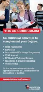 The Co-curriculum leaflet