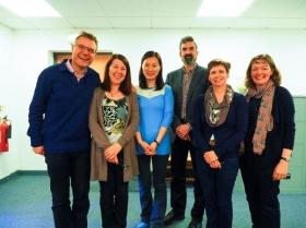 Blair Stevenson and colleagues