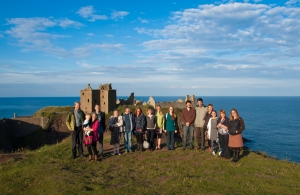 FEECA Conference Excursion, Dunnottar Castle