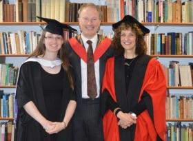 Catriona Moore, Thomas McKean and Pat Ballantyne