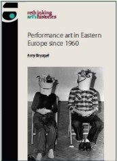 Performance art book cover