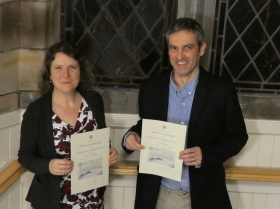 Drs Mighall and Philip awarded Honorary Fellowships of the Royal Scottish Geographical Society