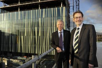 Top floor of new University Library funded by million pound Craig Group Donation