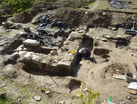 Excavations at Whitefriars