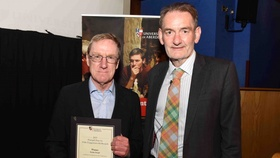 Professor Michael Keating was among the winners of the Principal's Prizes for public engagement