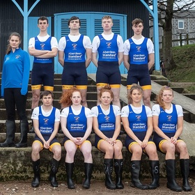 The University of Aberdeen team for this year's Aberdeen Standard Investments Boat Race