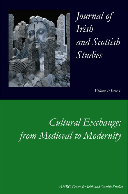 Journal Of Irish And Scottish Studies Aberdeen University Press The University Of Aberdeen
