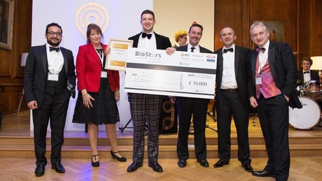 James McIlroy won £30,000 to support his social enterprise start-up