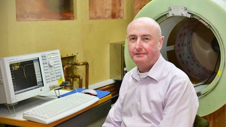 Professor David Lurie is spearheading a 6.6M Euro project into the development of next-generation MRI scanners