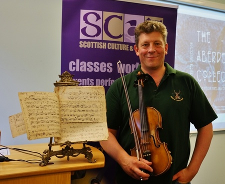 Newly discovered tunes by local fiddlers' favourite to be revealed