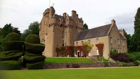 Crathes Castle, which features in the new Pesvner Guide