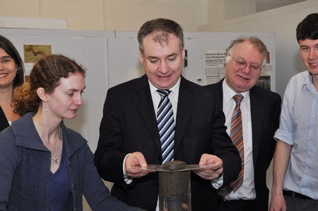 Cabinet Secretary for Rural Affairs and the Environment Richard Lochhead MSP at the official opening of Oceanlab 2