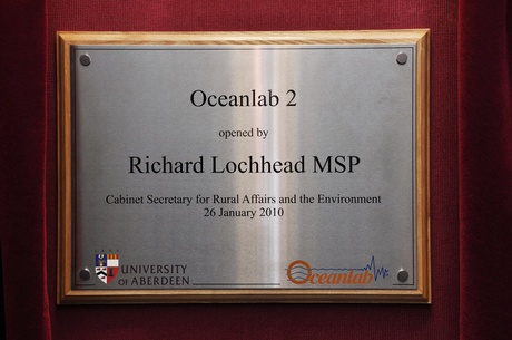 Official opening of Oceanlab 2