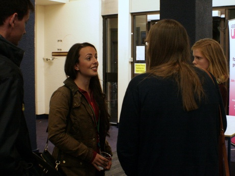 Aberdeen Alumnus, Donya Davidson, offers current students careers advice