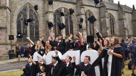 The University of Aberdeen's summer graduations take place June 17 - 21