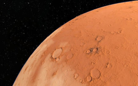 University of Aberdeen scientists have extracted methane from Martian rock