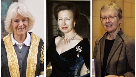 HRH The Duchess of Rothesay, HRH The Princess Royal and Professor Janet Darbyshire, CBE | Image of HRH The Princess Royal copyright - Jeremy Makinson