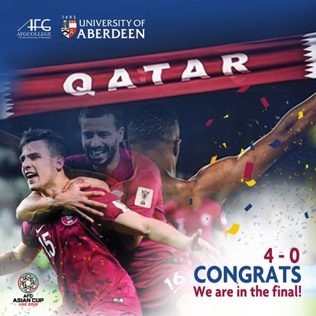 Qatar reach the final of the Asia Cup