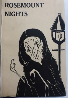 The cover of Eric Linklater's 'Rosemount Nights' (1923)