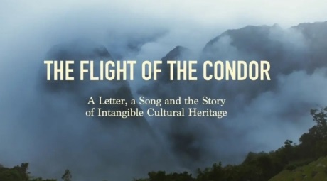 The flight of the condor poster