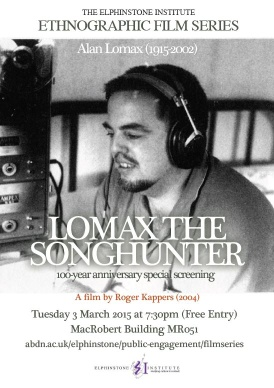 Lomax the songhunter poster