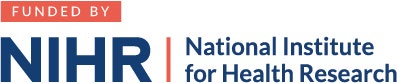 Funded by: NIHR - National Institute for Health Research