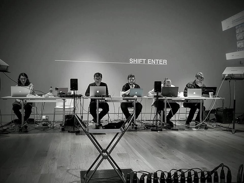 Shift-Enter Concert at the Library Gallery