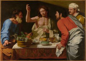 Cavarozzi, The Supper at Emmaus (Getty Museum)