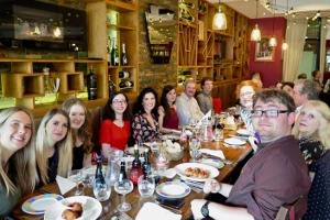 Senior Honours celebratory dinner at Aperitivo