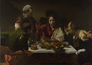 Caravaggio, The Supper at Emmaus, 1601, National Gallery, London