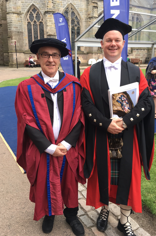 Dr Malcolm Hole and Dr David Muirhead