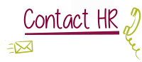 image: contact HR text