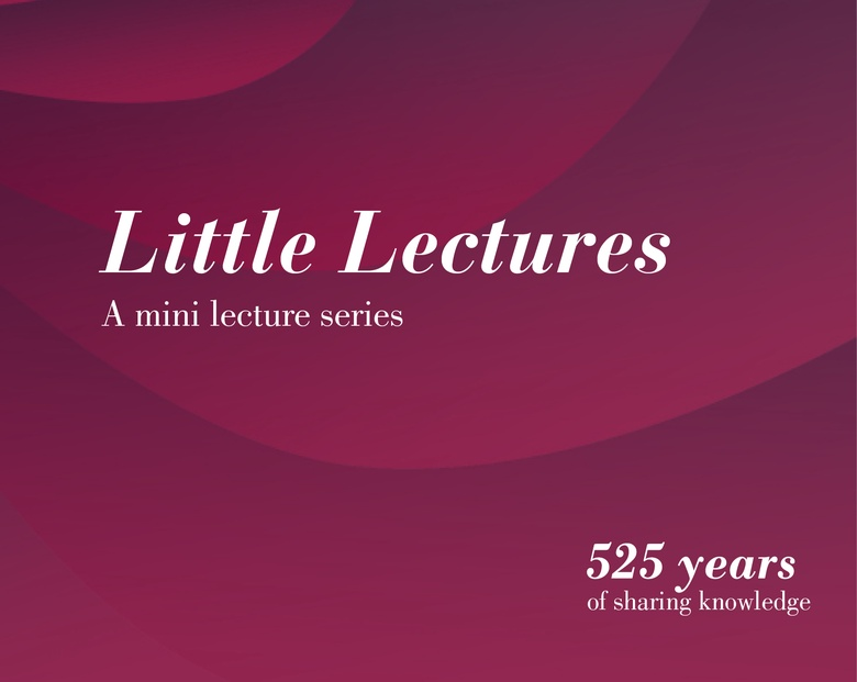 Little Lectures - A Mini Lecture Series