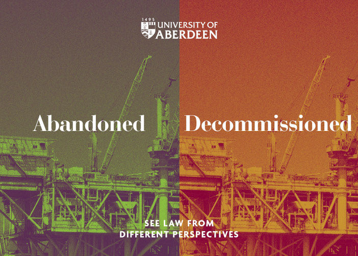 Abandoned or Decommissioned? See law from different perspectives.