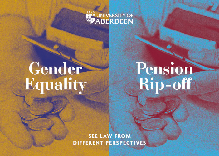 Pension Rip Off or Gender Equality? See law from different perspectives.