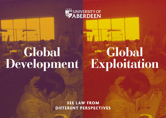 Global Exploitation or Global Development? See law from different perspectives.
