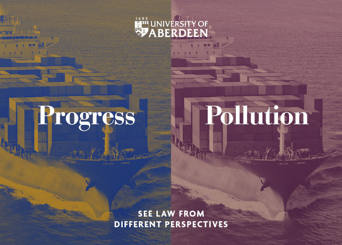 Pollution or Progress? See law from different perspectives.