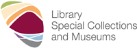 Library, Special Collections and Museums logo