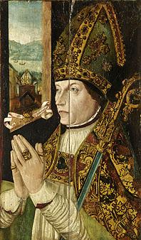 Portrait of Bishop Elphinstone. ABDUA 30005