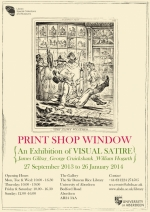 Print Shop Window poster