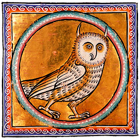 f50r, Owl from the Aberdeen Bestiary