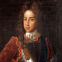 ABDUA 10119. Oil painting, portrait of James Francis Edward Stuart, James VIII, the Old Pretender.