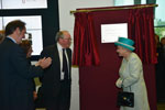 HM the Queen opens The Sir Duncan Rice Library