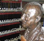 Bronze bust of Thomas Taylor