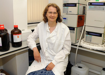 Dr Zosia Miedzybrodzka, Reader in Medical Genetics at the University of Aberdeen